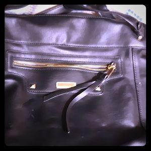 Handbags - Womens Black Hobo Purse